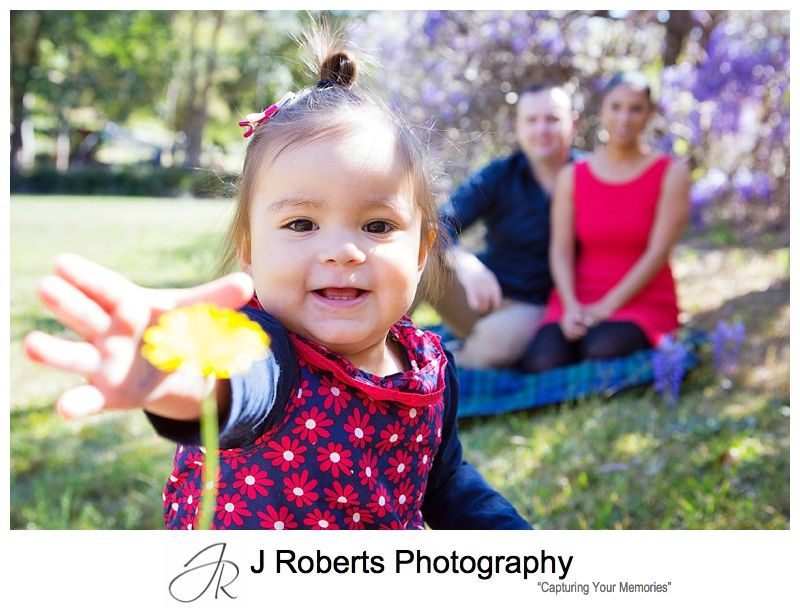 Sydney Spring Mini Family Portrait Photography Sessions Muston Park Chatswood
